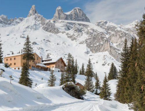 Ein Highlight: Ausbau einer Alpenhütte